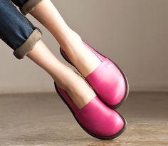 VENTA Mujer hecho a mano zapatos zapatos ocasionales por HerHis