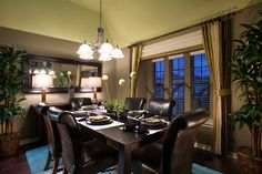 Formal Dining Room Ideas by Stylecraft Builders.