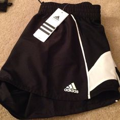 NWT Adidas running shorts Medium black and white Adidas running shorts Adidas Other
