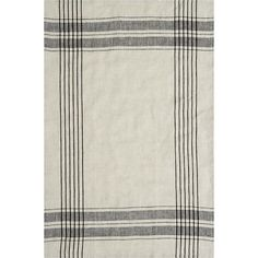 Flax Linen Strip Towel