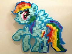 Mi pequeño pony hama beads