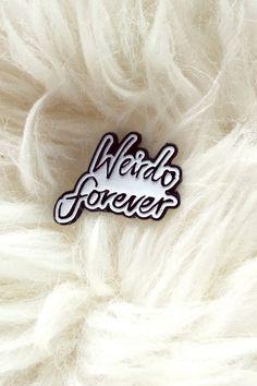 Hello Holiday · Weirdo Forever Pin