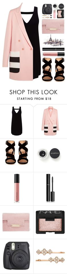 """#1004 Lyna"" by blueberrylexie ❤ liked on Polyvore featuring Miss Selfridge, MaxMara, Gianvito Rossi, Smashbox, Bare Escentuals, Chanel, AERIN, NARS Cosmetics, Fuji and Henri Bendel"