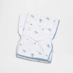 Image du produit Serviettes bébé imprimé floral (lot de 2)