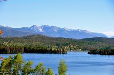 On the western side of Trail Ridge Road, Grand Lake is a beautiful, historic town on the shores of one of the biggest lake complexes in Colorado.