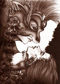 Midsummer Night by dreamingSarah.deviantart.com on @DeviantArt