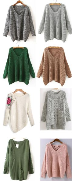 Cozy Sweaters - shein