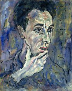 Iskowitz, Gershon (1921-1988) - 1947 Self-Portrait (National Gallery of Canada, Ottawa) by RasMarley, via Flickr
