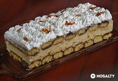 Hungarian Cake, Hungarian Recipes, Hungarian Food, Sweet Cookies, Cake Cookies, Sweet Recipes, Cake Recipes, Ital Food, No Bake Desserts