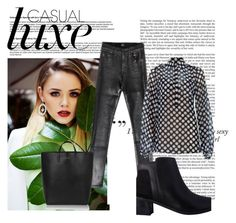 """""""Casual Luxe"""" by thenandnowshop on Polyvore"""