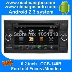 Pure android 2.3 Radio Audio gps navigation for S150 Ford old Focus 1  SWC iPod 3G autoradio OCB-140B $485.00