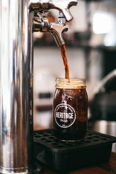 Chicago-based Heritage Bicycles builds American-made custom bicycles while simultaneously serving-up award winning coffee in our nationally recognized cafe! I Love Coffee, Coffee Break, Iced Coffee, Coffee Drinks, Coffee Shop, Coffee Cups, Coffee Culture, In Vino Veritas, Mocca