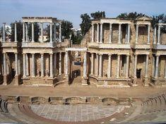 Top 10 Most Beautiful Roman Theaters Merida, Roman Theatre, Ancient Rome, Ancient Greek, Spain Travel, Roman Empire, Places Ive Been, Trip Advisor, Most Beautiful