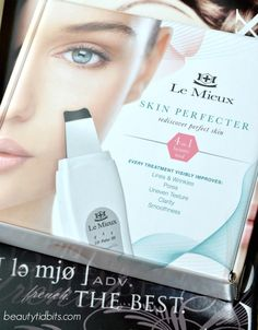 Le Mieux 4-in-1 Ultrasonic Anti-Aging Skin Perfecter via @beautytidbits