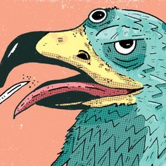 Rooster, Behance, Party, Animals, Fiestas, Blue Prints, Animales, Animaux, Parties
