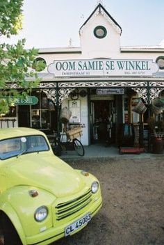 When visiting Stellenbosch, Cape Town a visit to Oom Samie se Winkel is cult .. can't leave Stellenbosch without popping in!