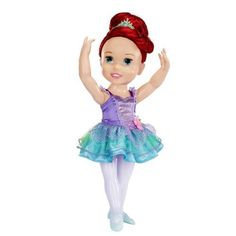 "Disney Princess Dance With Me Princess Toddler Doll - Doll 3 - Tolly Tots - Toys ""R"" Us.mamaw mitchell bought this for Nessa.shes going to have the best Christmas Disney Princess Toddler Dolls, My First Disney Princess, Princess Toys, Disney Dolls, My Princess, Cinderella Disney, Crochet Baby Halloween, Kids Toy Shop, Disney Animators Collection Dolls"