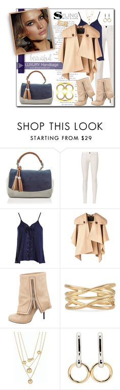 """Luxury Fashion Autumn with 88  #2"" by court8434 ❤ liked on Polyvore featuring J Brand, Sans Souci, Burberry, Giuseppe Zanotti, Stella & Dot, Talbots and Alexander Wang"