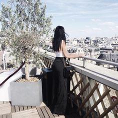 "43.7k Likes, 187 Comments - Kelsey Simone (@k.els.e.y) on Instagram: ""Rooftops in Paris"""
