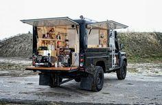 Land Rover Defender coffee