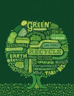 Logos on pinterest naturaleza recycling and logo color - Gama de colores verdes ...