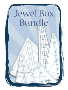 "The Bundle includes:  -The Gem 5 and 10 Tool Set  -The Gem 30 Tool  -The Gem Star Tool  -The Gem Jr Tool  These tools are screen printed and made from 1/8"" acrylic. Phillips Fiber Art: Complete Jewel Box Bundle"