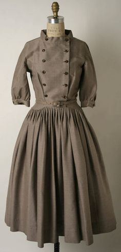 Norman Norell | Wool Dress | c. 1951