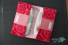 Tutorial für eine Wickeltasche, umgewandelt in eine Nagellackaufbewahrung