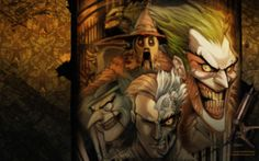 Zdarma Joker Dve Tváre na Peguin HD Tapety na plochu