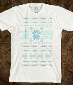 Snowflake Sweater Tee
