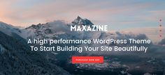 Maxazine Wordpress Theme, Blog, Travel, Design, Viajes, Blogging, Destinations, Traveling