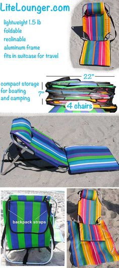 Awesome 15 Best Lightweight Beach Chair Images Beach Chairs Chair Lamtechconsult Wood Chair Design Ideas Lamtechconsultcom