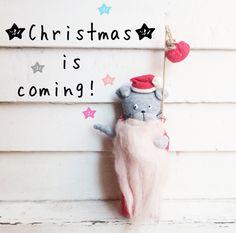 Christmas Toys - Santa Doll - Christmas Gifts - Christmas Plush Toys - Christmas Decor Toys by dodobob on Etsy https://www.etsy.com/listing/256849860/christmas-toys-santa-doll-christmas