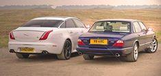 Jaguar X308 XJR vs X351 XJR