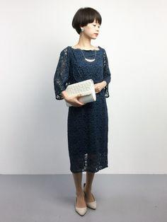 ZOZOTOWN|yukiさんのドレス「je オフショルダーレースドレス(je|ジェイイー)」を使ったコーディネート