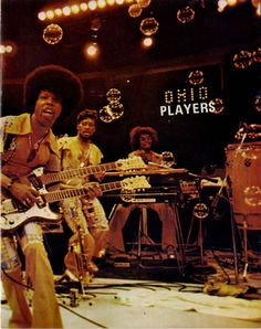 """Ohio Players ~ They had some big hits and raunchy album covers. Ironically, my favorite song of theirs is the very silly """"Funky Worm"""". 70s Music, I Love Music, Urban Music, Indie Music, R&b Artists, Music Artists, Ohio Players, Funk Bands, Music Bands"""