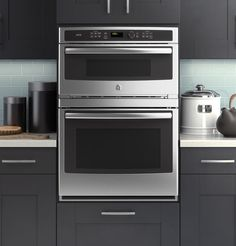 Bake or broil fast or slow with GE's new combo modular #oven