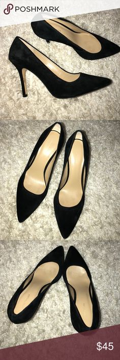Ann Taylor Heels Gorgeous Ann Taylor heels. They are a suede material and in excellent condition. Ann Taylor Shoes Heels