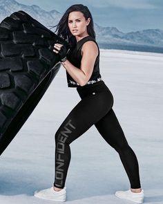 Demi Lovato for the Fabletics campaign