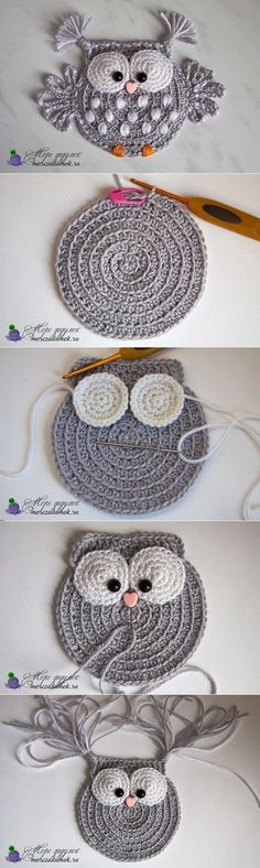 Baby Knitting Patterns 5 ungelesene Chats knitting and crochet Baby Knitting Patterns 5 ungelesene Chats (NewBorn Baby Stuff) Crochet Owl Applique, Crochet Motif, Crochet Flowers, Crochet Shawl, Crochet Appliques, Blanket Crochet, Crochet Birds, Crochet Squares, Granny Squares