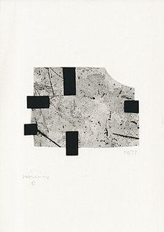 Eduardo Chillida (1924-2002), Untitled, 1994. From Joan Brossa: A peu pel llibre. Etching and aquatint. Plate size: 16.7cm H x 21.7cm W. Sheet size: 65cm H x 50cm W. Edition of 100 copies.