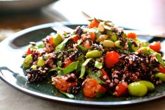 Antipasti Archives - Page 4 of 5 - Ciao Chow Bambina Vegetarian Meals For Kids, Vegetarian Recipes, Healthy Recipes, Kid Recipes, Edamame Salad, Edamame Beans, Cooking Black Rice, Quinoa Health Benefits, Black Rice Salad