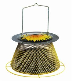Metal NONO Feeder Holds up to lbs of sunflower seed Expandable feeder, can be used all year around Peanut Bird Feeder, Bird Feeders, Peanuts For Birds, Sunflower Seeds, Squirrel, Canning, Metal, Decor, Feed Trough