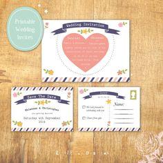 Postcard-Chic-Wedding-Invitation-by-Little-Joy-Designs