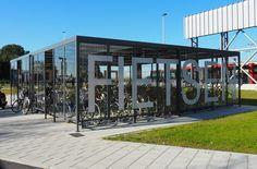 Falco fietsenberging voor OV Knooppunt Schiphol-Noord