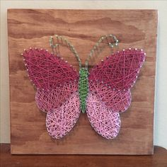 Embroidery On Paper 30 Inspiring String Art Projects Ideas so that Easy do Anytime String Art Templates, String Art Patterns, Nail String Art, String Crafts, Resin Crafts, Arte Linear, Paper Embroidery, Japanese Embroidery, Flower Embroidery