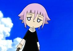 Crona  soul eater i recently met someone who has a personality like him or her(depending on if you count the manga or anime version of the series) so I'm givin reconition to this shy charecter
