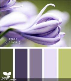 29 Ideas For Bedroom Colors Paint Purple Design Seeds Scheme Color, Purple Color Schemes, Colour Pallette, Color Palate, Color Combos, Purple Palette, Lavender Color Scheme, Design Seeds, Pantone