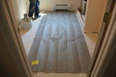 Nuheat 120V Standard Heat Mat  all Sizes  Heat Your Floors ~You Pick Mat Size~