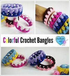 Colorful Bangles By Erangi Udeshika - Free Crochet Pattern - (ravelry)